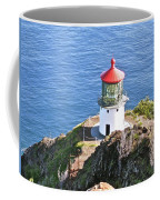 Makapuu Lighthouse 1065 Coffee Mug