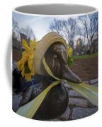 Make Way For Ducklings B.a.a. 5k Spring Bonnet Coffee Mug