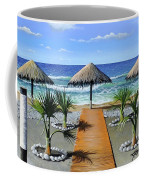Makry Gialos Beach Coffee Mug