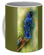Male Fairy Bluebird Coffee Mug