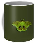 Male Moth Green And Yellow .png Coffee Mug