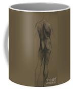 Male Nude Study Coffee Mug by Evelyn De Morgan