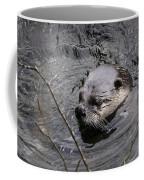 Male River Otter Coffee Mug