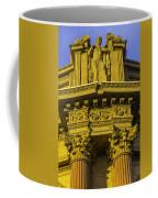 Male Statue Palace Of Fine Arts Coffee Mug
