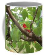 Male Summer Tanager Coffee Mug