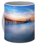 Malibu Pier Sunrise Coffee Mug