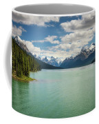 Maligne Lake In Jasper National Park Coffee Mug