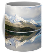 Malingne Lake Reflection, Jasper National Park  Coffee Mug