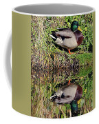 Mallard And Reflection Coffee Mug