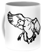 Mallard Duck Graphic Coffee Mug