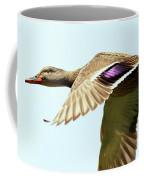 Mallard In Flight . 40d5450 Coffee Mug
