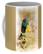 Drake In The Flowers Coffee Mug