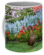 Mallard In The Garden Coffee Mug