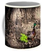 Mallard On The Run Coffee Mug