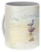 Mallards At The Chattahoochee River Coffee Mug
