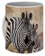 Mama And Baby Zebra Coffee Mug