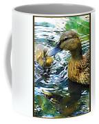 Mama And Chick Coffee Mug