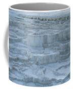 Mammoth Hot Springs Travertine Terraces One Coffee Mug