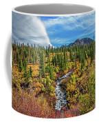Mammoth Lakes Autumn Falls Coffee Mug