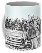 Man And His Horse Coffee Mug