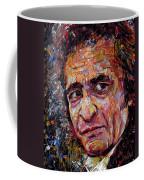Man In Black Johnny Cash Coffee Mug