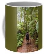 Man Relaxing In Strahan Rainforest Retreat Coffee Mug