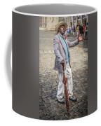 Man Smoking A Cigar Coffee Mug