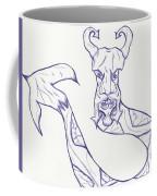 Man Snake Coffee Mug