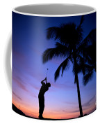 Man Swinging Driver Coffee Mug