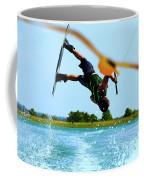 Man Wakeboarding Coffee Mug by Fernando Cruz