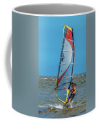 Man Wind Surfing Coffee Mug