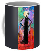 Man With Arms Akimbo Coffee Mug