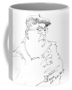 Man With Hat Coffee Mug