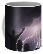 Man With Lightning, Arizona Coffee Mug