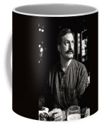 Man With Mustache Coffee Mug