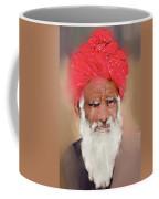Man With Red Headwrap Coffee Mug