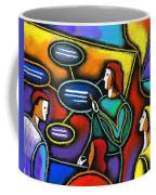 Manager  Coffee Mug by Leon Zernitsky
