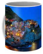 Manarola - Cinque Terre In Widescape Coffee Mug