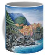 Manarola Cinque Terre Italy Coffee Mug