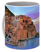 Manarola Rainbow Of Colors Coffee Mug