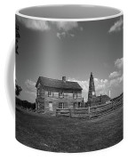 Manassas Battlefield Farmhouse 2 Bw Coffee Mug