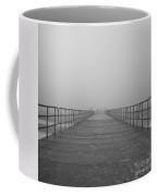 Manatee Beach Pier In Fog Infrared 39 Coffee Mug