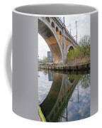 Manayunk Canal Bridge Reflection Coffee Mug