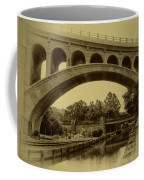 Manayunk Canal In Sepia Coffee Mug