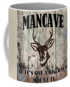 Mancave Deer Rack Coffee Mug