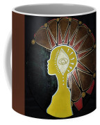Mandala Mohawk  Coffee Mug
