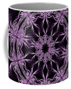 Mandala Purple And Black Coffee Mug