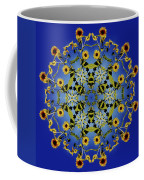 Mandala Sunflower Coffee Mug