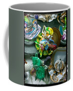 Mandarin Goby Hanging With Emerald Turtles Coffee Mug