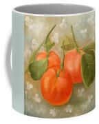 Mandarins Coffee Mug by Angeles M Pomata